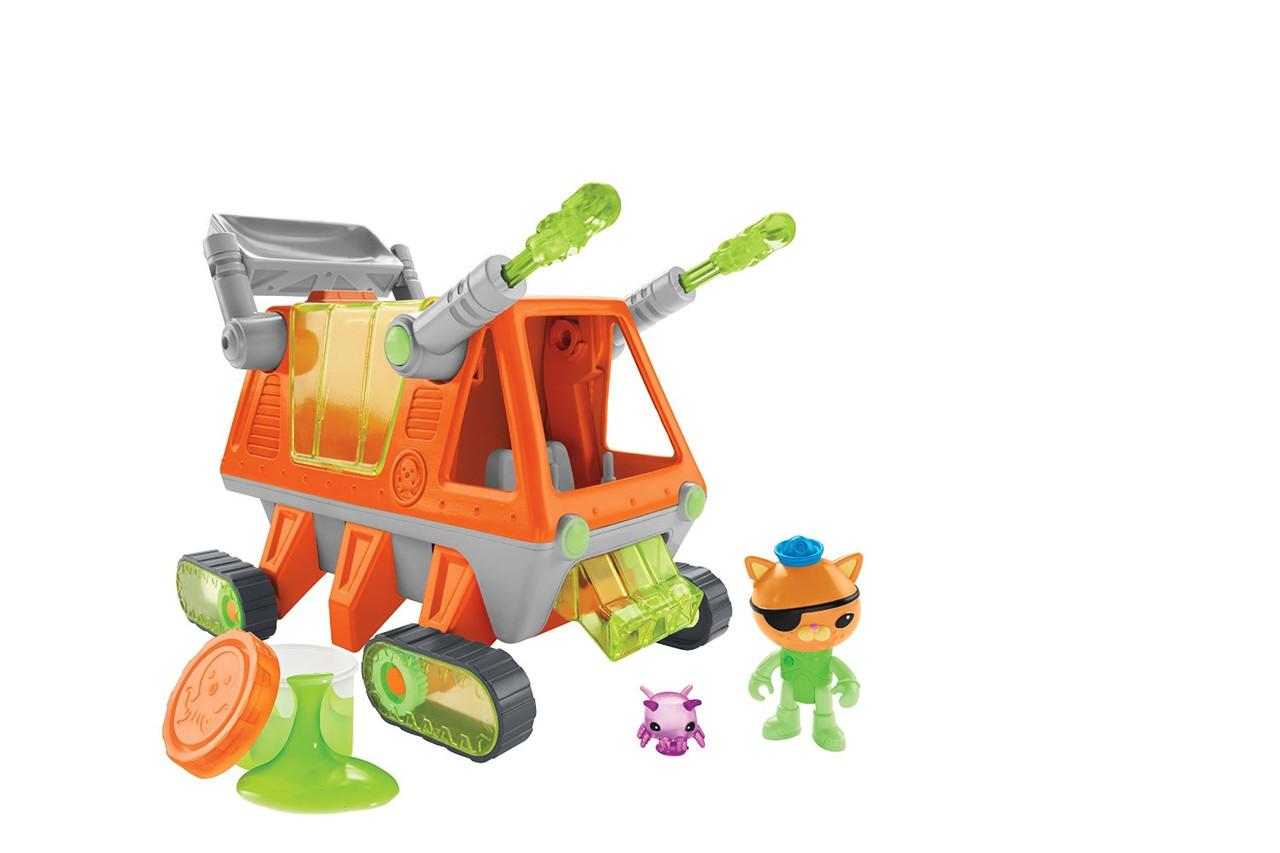 Игрушка Октонавты машина очиститель морского дна Fisher-Price Octonauts Gup-T Rescue Rover