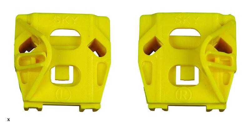 Направляющие (каретки) стеклоподъемника Volkswagen Golf 4 (Фольцваген Гольф 4), фото 2