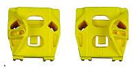 Направляющие (каретки) стеклоподъемника Volkswagen Golf 4 (Фольцваген Гольф 4)