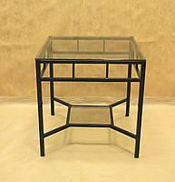 Стол стекло СС-16 (металл, стекло)