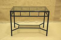 Стол стекло СС-15 (металл, стекло)