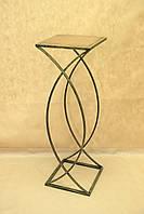 Столик СК-04Б большой (металл, дерево)