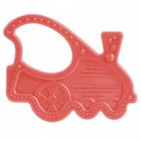 Прорезыватель для зубов эластичный (паровозик красный), Canpol babies