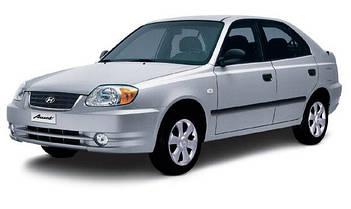 Автомобильные стекла для HYUNDAI ACCENT II LC 2000-2006