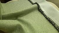 Шторный Лен Blackout блэкаут №12 цвет зеленый