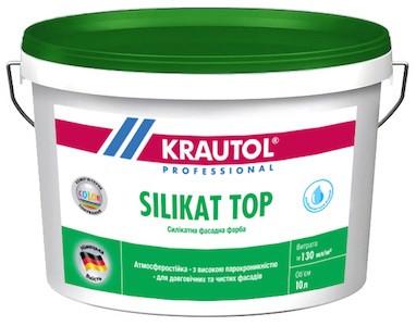 Краска фасадная силикатная Krautol Silikat Top , 10л
