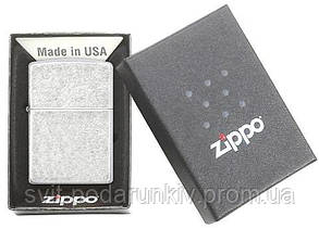 Зажигалка ZIPPO 121FB Classic Antique Silver Plate, фото 2