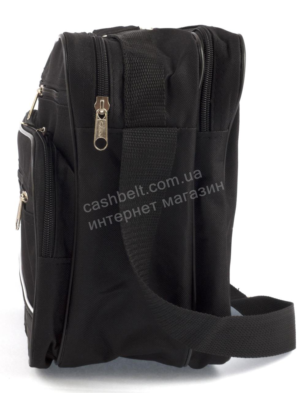 6c5090cee89a 2650 Украина, фото 4 Вместительная мужская текстильная сумка черного цвета  WALLABY art.