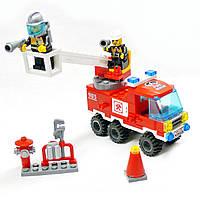 """Конструктор Brick """"Пожарная бригада""""  130 деталей!, фото 1"""