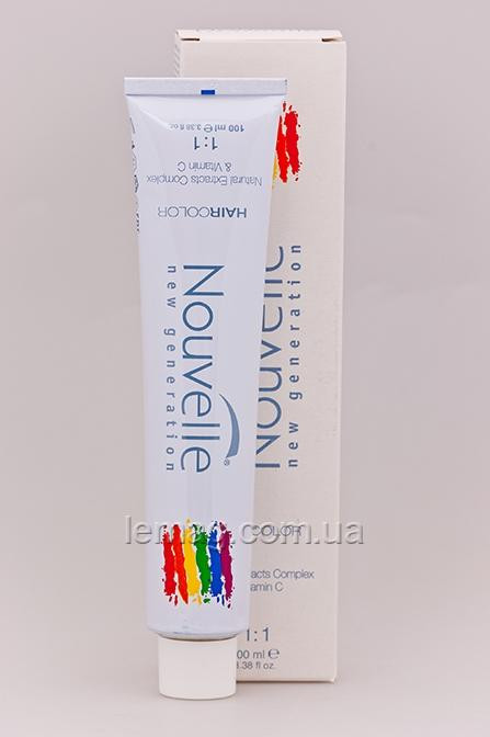 Nouvelle X-Chromatic Hair Color Стойкая крем-краска 6.71 - Графит, 100 мл