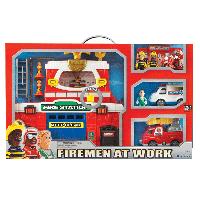 Игровой набор Keenway Пожарная станция