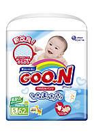 Трусики-подгузники GOO.N для активных детей 5-9 кг размер S, унисекс, 62 шт (853078)