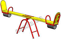 Качель- балансир (модель 2)