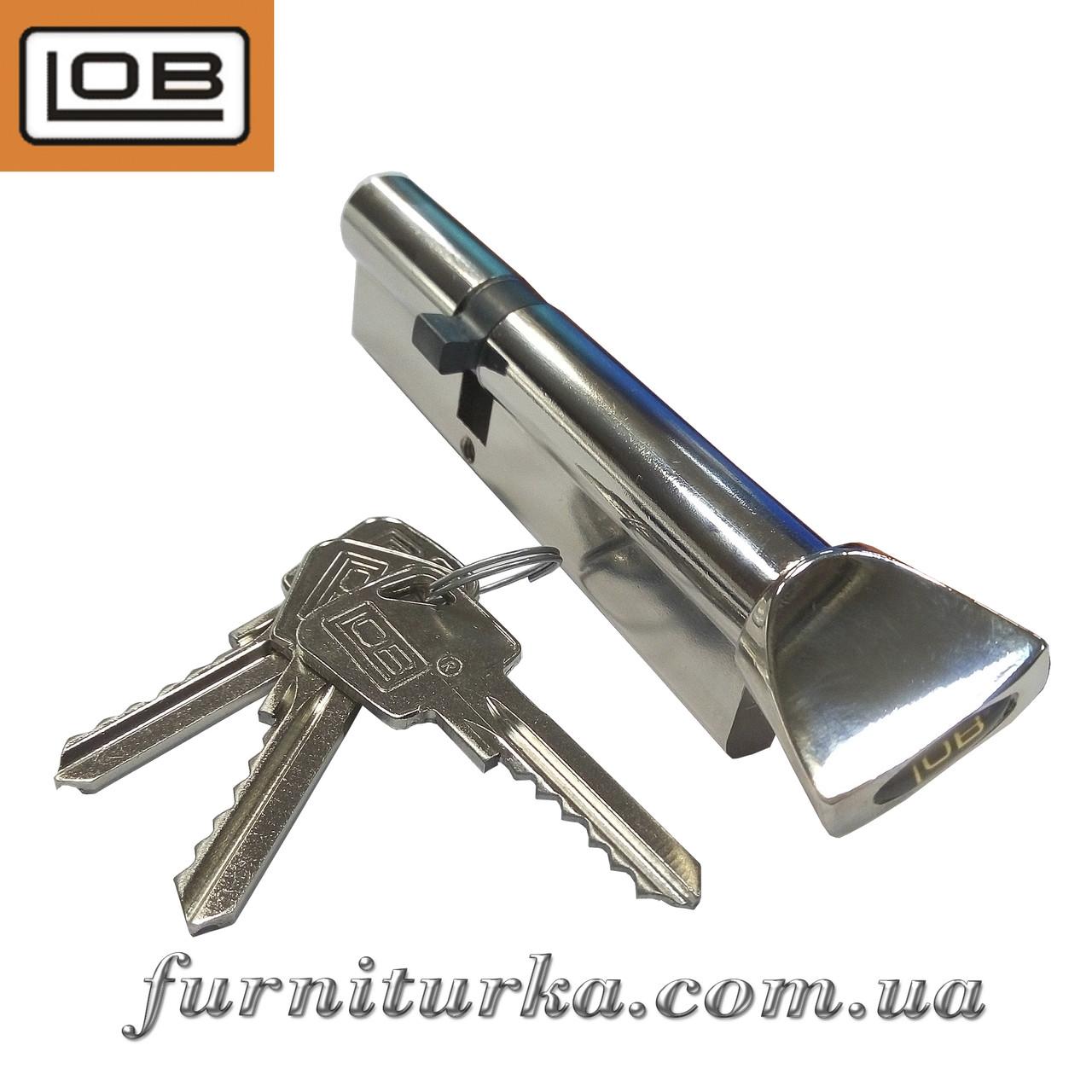 Сердцевина к замку 45/70 ключ/барашек LOB