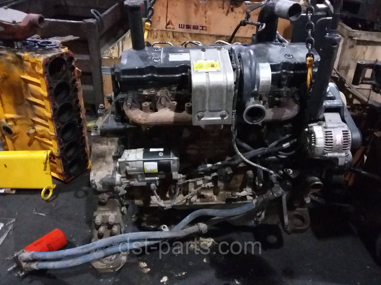 69c3785e8 Ремонт дизельного двигателя KOMATSU, цена 10 000 грн./услуга ...