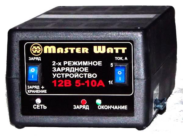 Автоматическое зарядное устройство для автомобильных аккумуляторов 5-10А 12В 2-х режимное