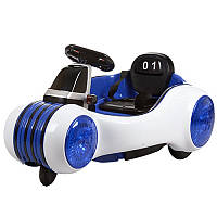 """Детский электромотоцикл BAMBI """"SpaceShip"""" с двумя моторами дистанционным управление и ремнями безопасности"""