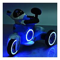 Детский электромотоцикл BAMBI с двумя моторами Светящимся корпусом и колесами Амортизатором