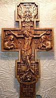 Крест резной православный