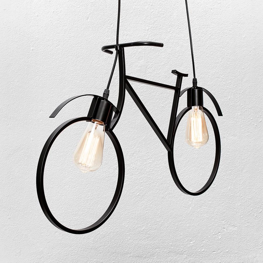 """Люстра в стиле лофт """" велосипед""""  56-PR7021-2 ВК"""