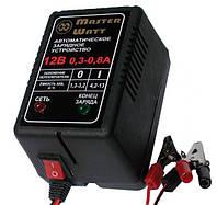 Автоматичний зарядний пристрій 0,3-0,8 А 12В для мотоциклетних акумуляторів Masterwatt