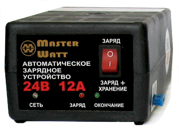Автоматическое зарядное устройство для автомобильных аккумуляторов 24В 12А 2-х режимное