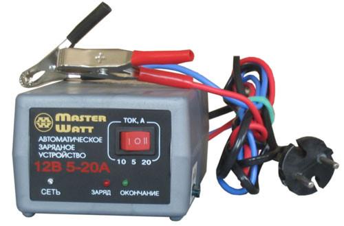 Автоматическое зарядное устройство для автомобильных аккумуляторов 20А 12В