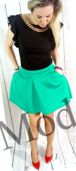 Стильная юбка Ницца 6 цветов