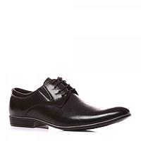 Классические мужские туфли черные на каблуке Tutto NL78
