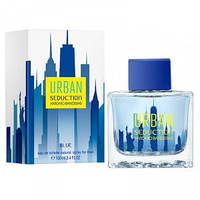 ANTONIO BANDERAS URBAN SEDUCTION BLUE FOR MEN 100 ml туалетная вода Мужская парфюмерия