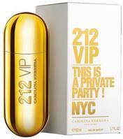 "Carolina Herrera ""212 VIP"" 100ml туалетная вода Женская парфюмерия"