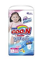 Трусики-подгузники GOO.N для девочек 9-14 кг размер L, 44 шт (853081)