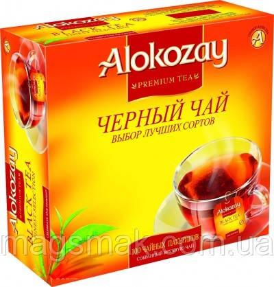 Чай Alokozay/ Алокозай черный, 100 пакетов, фото 2
