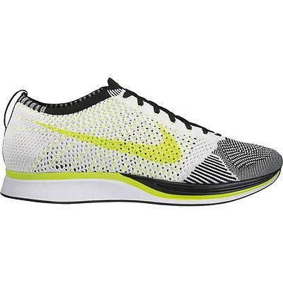 Мужские кроссовки   Nike Flyknit Racer Sail / Volt Black