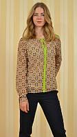 Блузка женская деловой стиль 4562 MEES Турция, фото 1