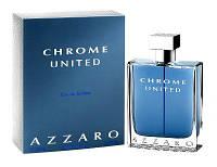 Azzaro Chrome United 100 ml Реплика туалетная вода Мужская парфюмерия
