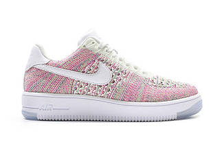 Женские кроссовки Nike  Flyknit Air Force 1 Multicolor