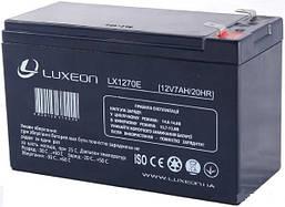 Аккумулятор Luxeon LX12-70E 7Ah мультигель(AGM) для ИБП