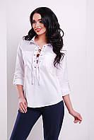 Блуза Таора Д/Р, белая glam