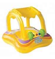 """Детский плотик надувной с навесом """"INTEX"""" 56581"""
