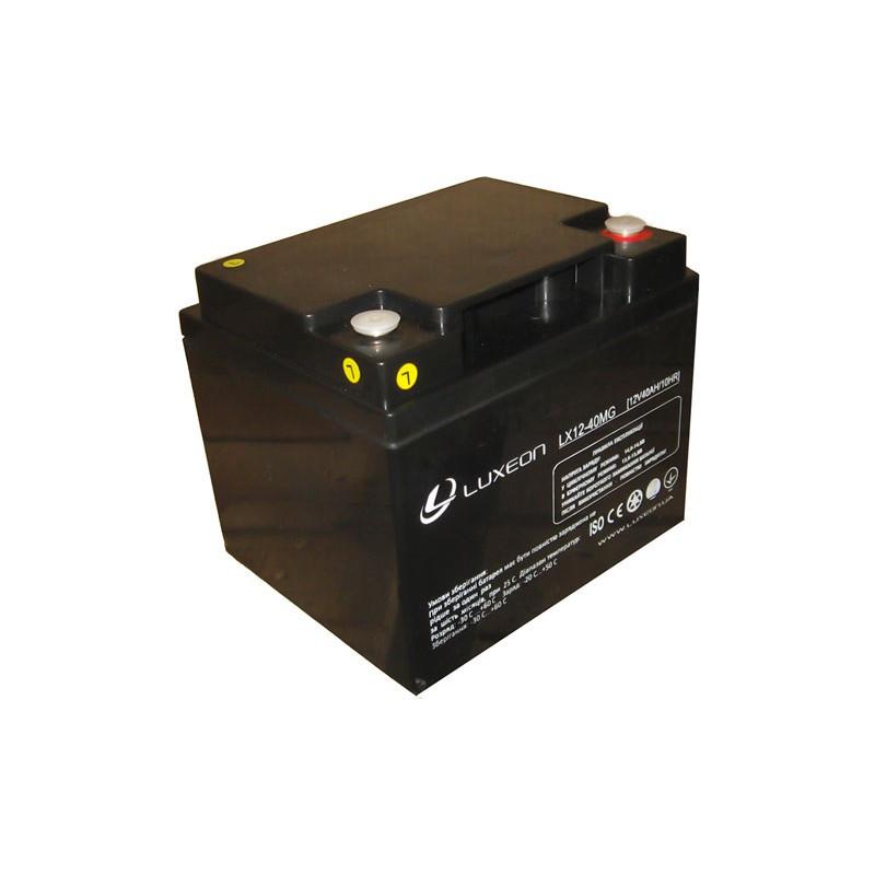 Акумулятор Luxeon LX12-40MG 40Ah мультигель(AGM) для ДБЖ