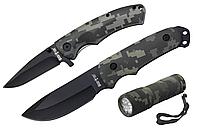Набор ножей и фонарик 01177+01199 (3 в 1), фото 1
