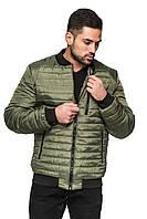 Куртка демисезонная Цезарь - хаки: 48,50,52,54,58