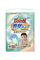 Трусики-подгузники GOO.N серии AROMAGIC DEO PANTS для детей весом 7-12 кг размер M, унисекс, 56 шт (853110)