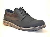 Полуботинки мужские кожаные Rosso Avangard Winterprince Street черные 8a376de6895a0
