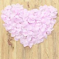 Искусственные лепестки роз розовые, 300 шт