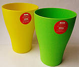 Стакан, 250 мл. пластик, може використовуватися в мікрохвильовці., фото 2