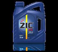 Полусинтетическое моторное масло ZIC X5 (ЗИК) 10w-40 4 л