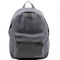 Ранец Рюкзак  школьный для подростка Wallaby Серый 17-536-4