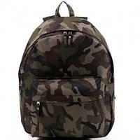 Ранец Рюкзак  школьный для подростка Wallaby Хаки 17-536-5